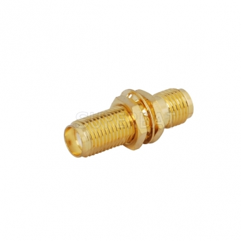 Superbat SMA Jack to SMA Jack female bulkhead straight RF Adapter connector goldplated