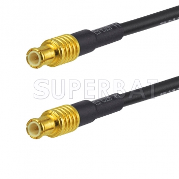 MCX Plug to MCX Plug Cable Using RG174 Coax