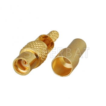 MMCX Jack Female Connector Straight Solder 1.13mm