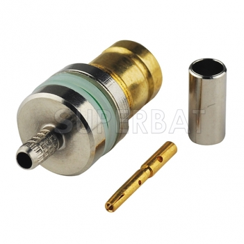 1.6/5.6 Jack Female Connector  Straight None Crimp