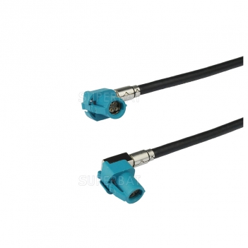 HSD Cable Assembly Z Code Right Angle Jack to Z Code Right Angle Jack 120cm