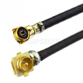 Uf.l /IPX male SMD connector to IPEX /MHF4 1.13mm RF Pigtail Antenna Cable