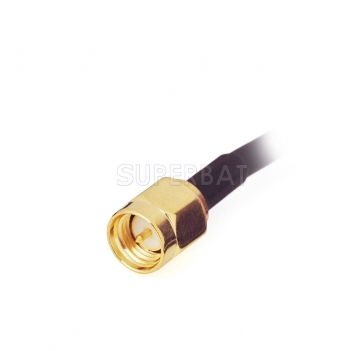 GPS active Antenna with SMA Plug connector RG174 3 meter, gps antenna