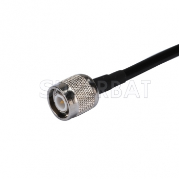 RF cable assembly N female panel mount straight to TNC male straight Patch Lead RG58 for GPS system