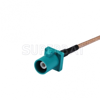 WaterBlue FAKRA Male to SMA Male to Cable Using RG316 Coax High Quality for GPS antenna