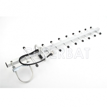 1.2GHz 12DBi GSM Yagi Directional Antenna 1200MHz N jack Connector 22cm cable