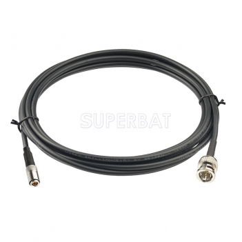 Superbat 10 feet BNC Male to DIN 1.0/2.3 Plug 75 Ohm 3G 6G HD SDI Vedio Camera Cable (Belden 1855A)