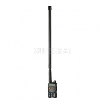 Superbat 136-520MHz Foldable CS Tactical SMA Female Ham Radio Antenna for Baofeng Kenwood Wouxun Handheld HT CB Radio Two Way Radio Walkie Talkie