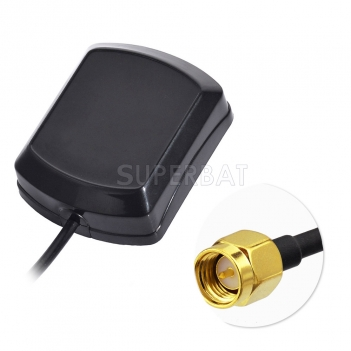 Superbat SMA Plug GPS Antenna Aerial Connector Cable for Boss Jensen GPS Navigation Receiver