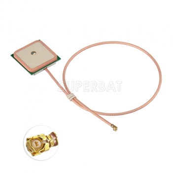 Superbat GPS Active Antenna internal Aerial IPEX connector with RG178 for PND Laptop Mobile Phone